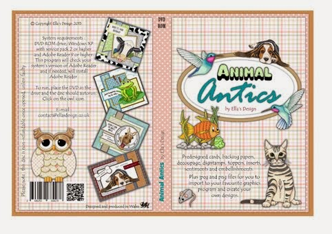 ANIMAL ANTICS PAPERCRAFT DVD-Rom