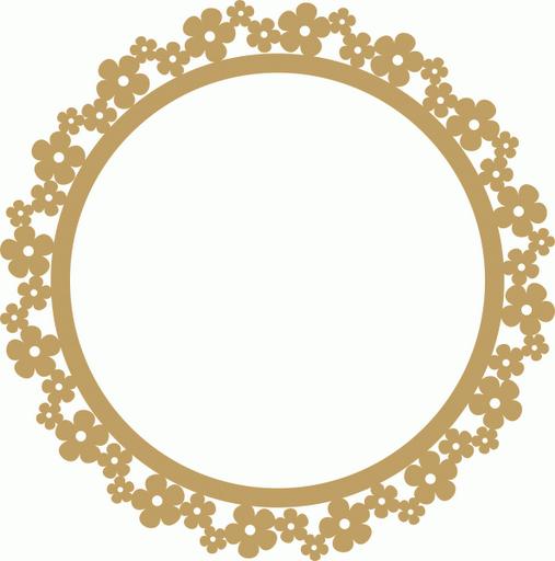 Flores marcos toppers o etiquetas para imprimir gratis for Molduras para espejos online