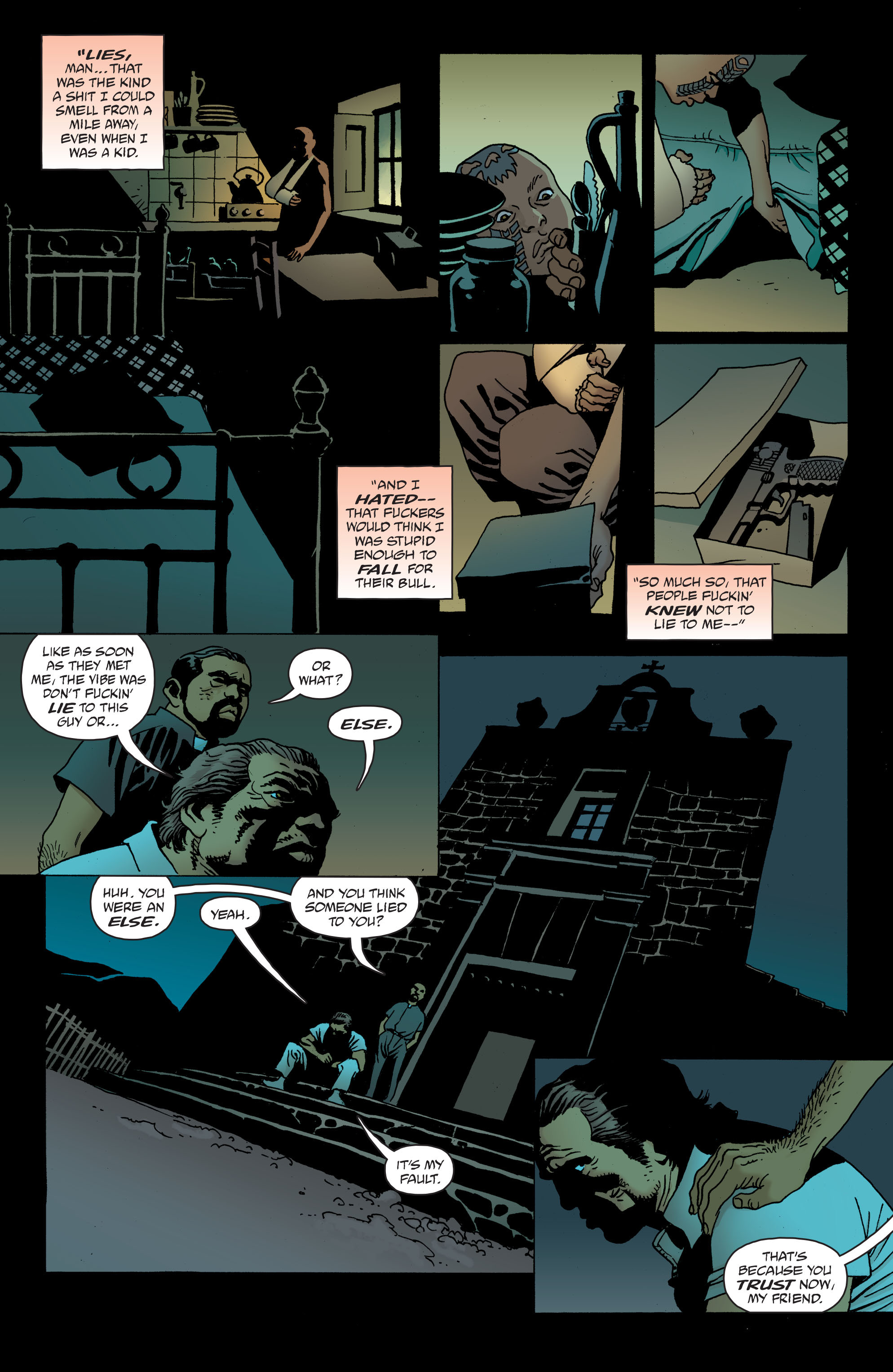 100 Bullets: Brother Lono Full Page 116