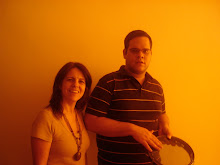 Filipe e a musicoterapeuta Gislane (Gigi)