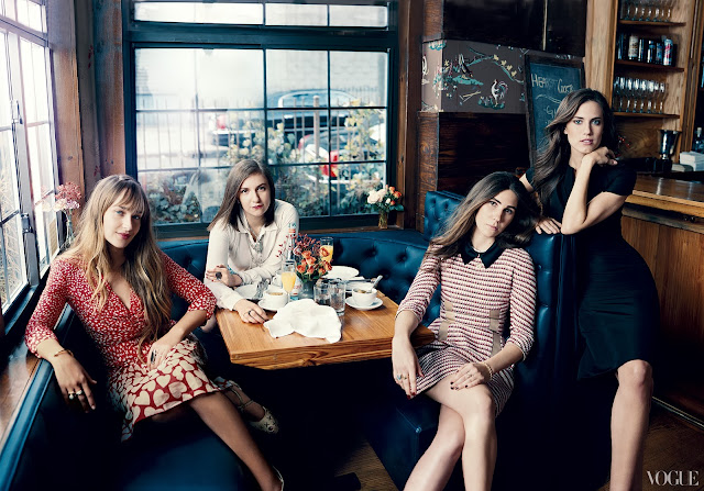 girls hbo vogue