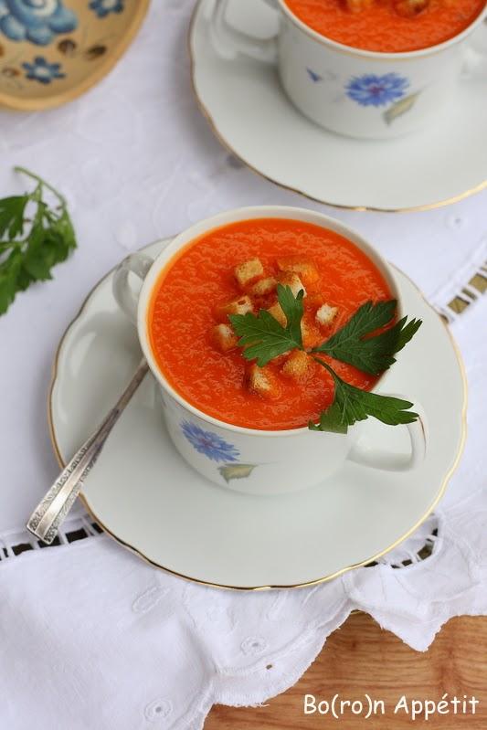 Przepis na zupę z papryki