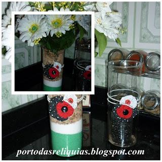 Reciclagem-vidros- reutilização-de-vidros-artesanato vidros