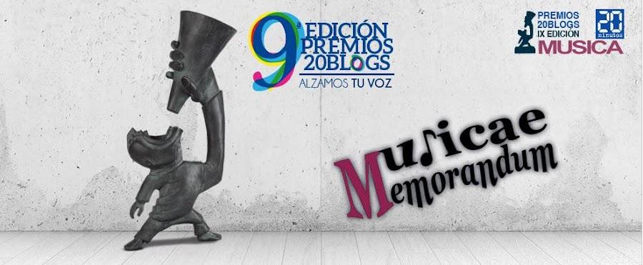 Musicae Memorandum. 20Blogs