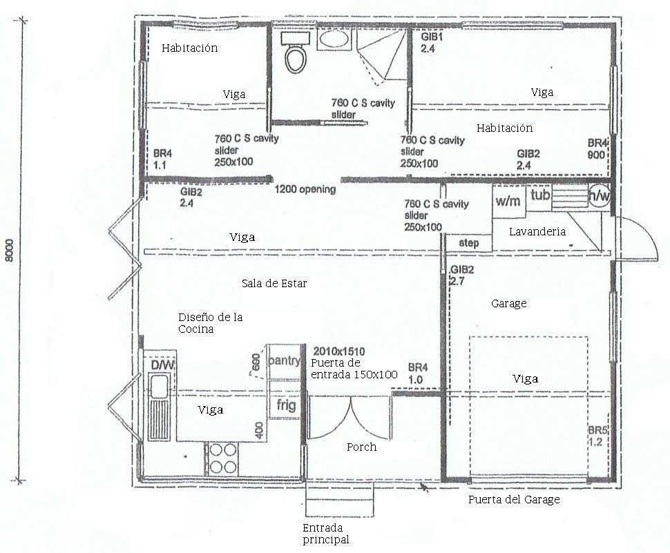 Planos de casas en mexico top de casas modernas dos for Planos de casas de 3 pisos