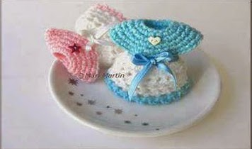 #T24 DIY: Recordatorios de Baby Shower Tejidos a Crochet