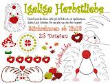 ♥ Igelige Herbstliebe 13x18