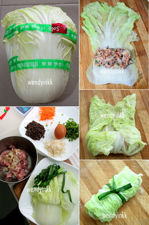 ... for 2.... or more: Chinese Cabbage Rolls in Broth - Chinese Cabbage #2