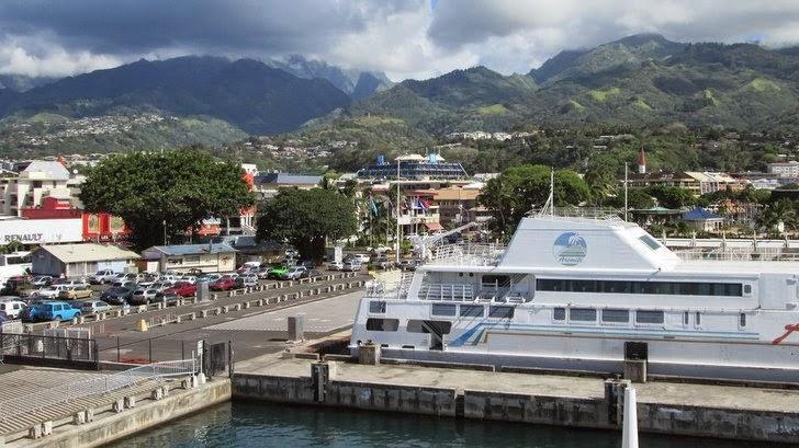 Papeete vu du ferry