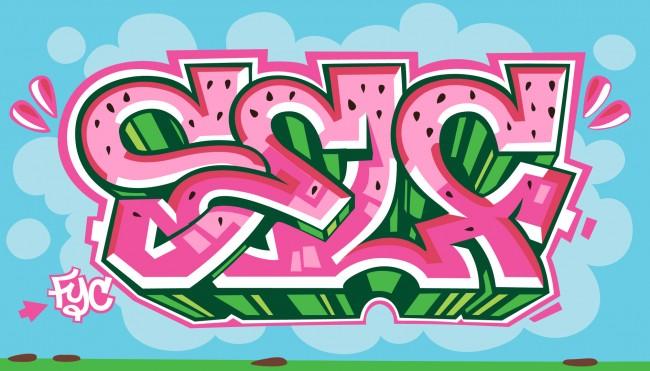 3-Simple Graffiti Letters 2011
