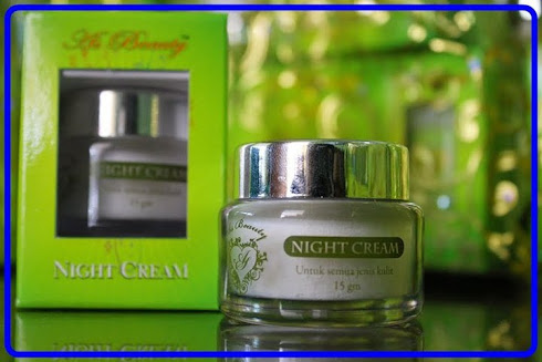 Night Cream (Harga: WM RM42.50, EM RM45.00)