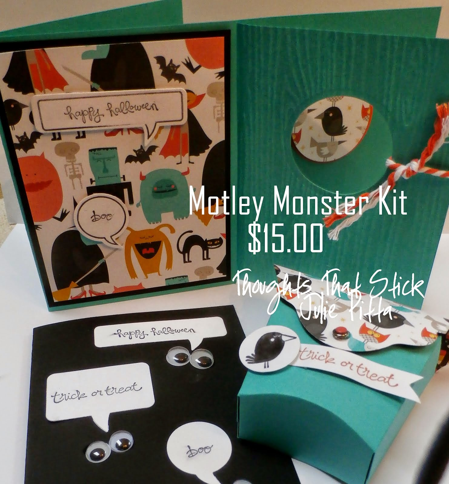 Motley Monsters Kit