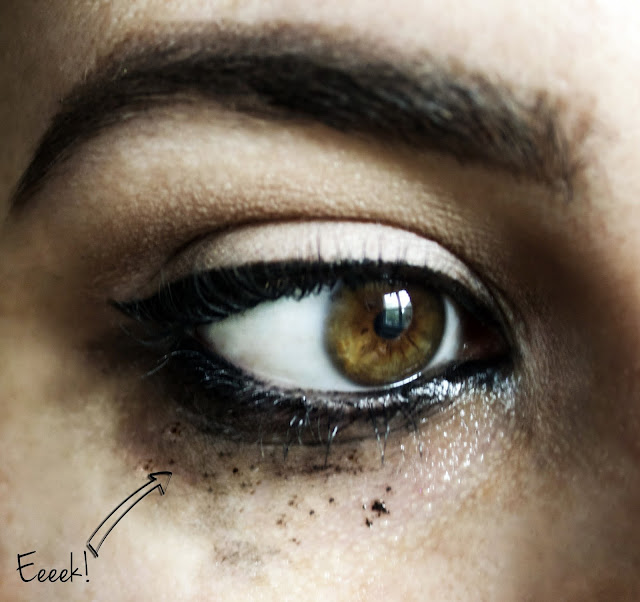 How To Stop Eye Makeup From Running | QuinnFaceMakeup ... Raccoon Eyes Makeup