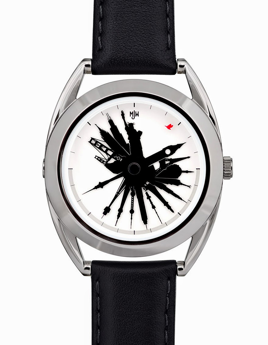 24 Of The Most Creative Watches Ever - Time Traveller – This Watch Allows You To See The Time All Over The World