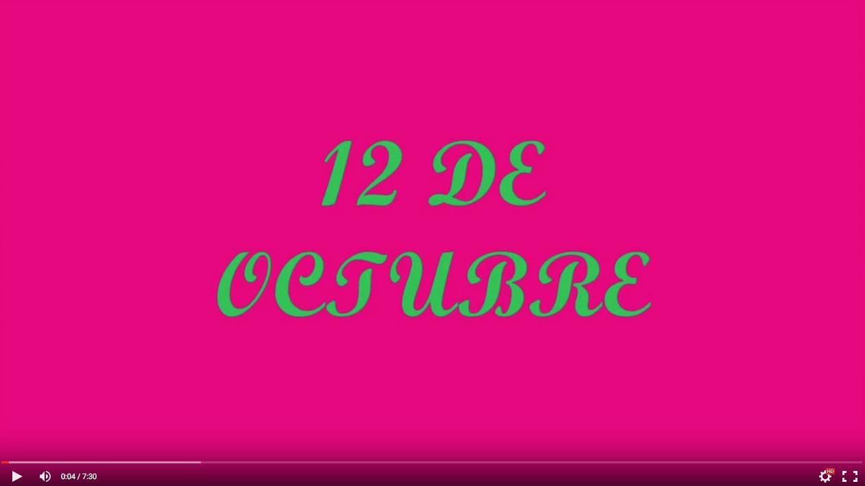 3º - VIDEO ACTO 12 DE OCTUBRE - 2015