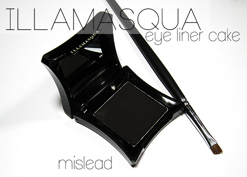 illamasqua Mislead Eyeliner Cake Review