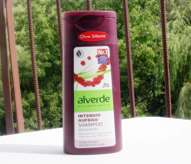 Alverde szampon z amarantusem