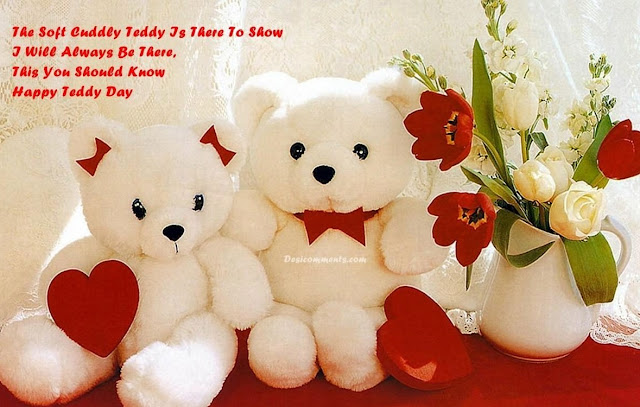 Teddy Day 2016 Images hd, Teddy Bear and Roses Teddy Day