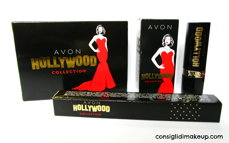 collezione make up natale avon hollywood