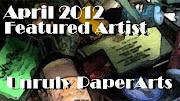 Unruly Paper Arts - guest artist