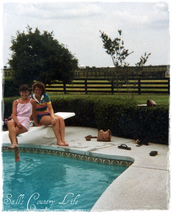 Sall 39 s country life time for a swim for Beverly hillbillies swimming pool