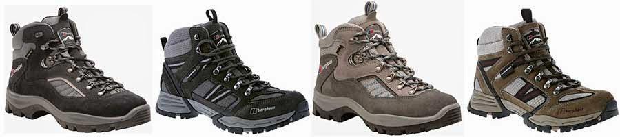 Berghaus walking hiking footwear