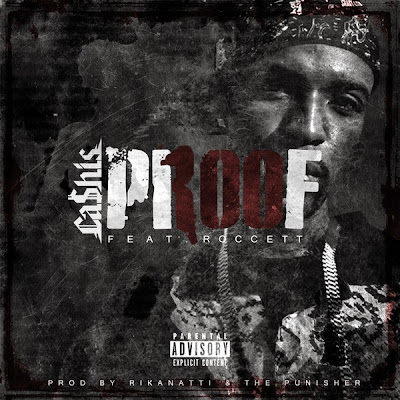 Ca$his - 100 Proof (feat. Roccett) - Single  Cover