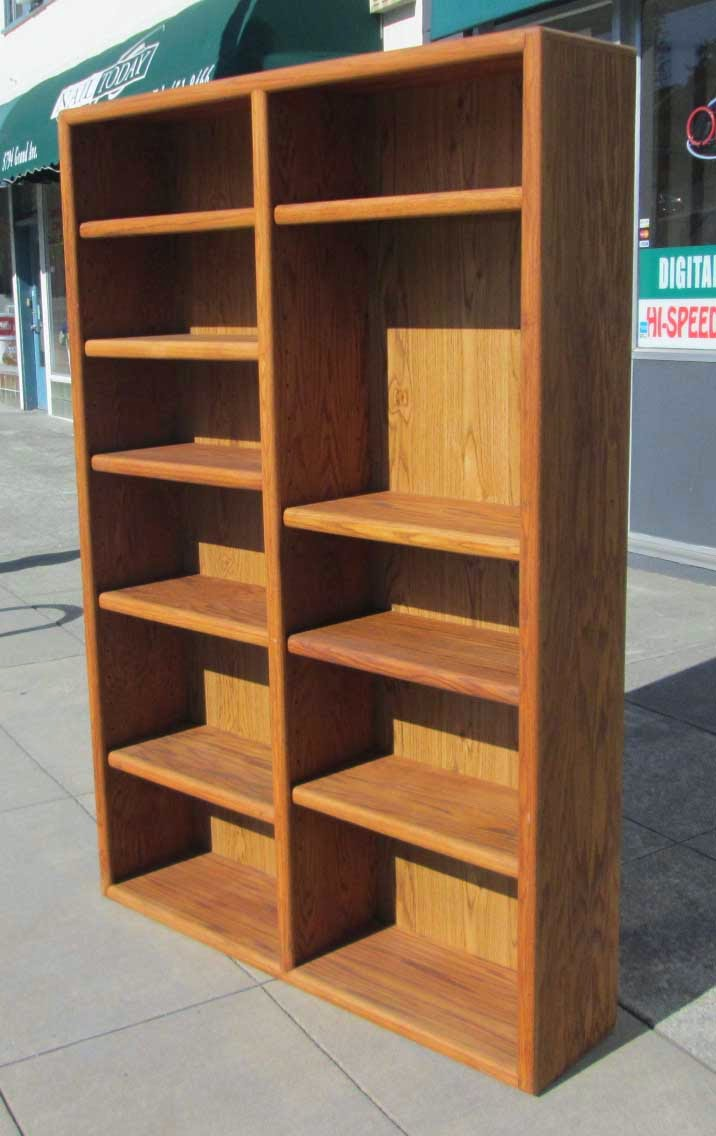 UHURU FURNITURE & COLLECTIBLES: SOLD Tall Oak Double ...