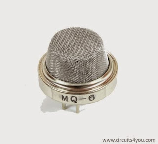 MQ-6 LPG Gas sensor