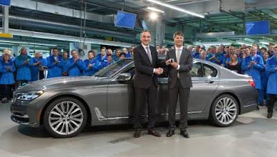 Έναρξη παραγωγής της νέας BMW Σειράς 7
