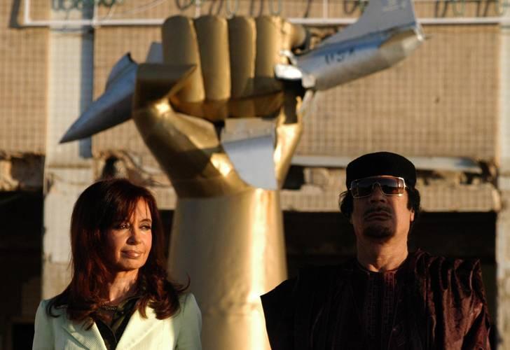 Cristina y Khadafy
