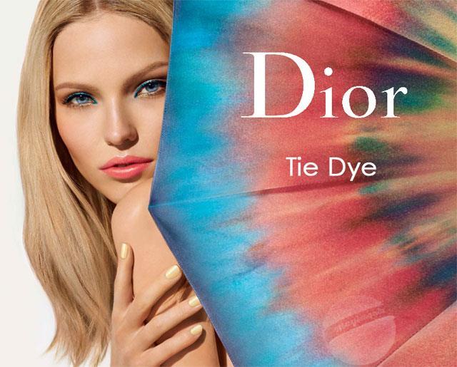 Dior Tie Dye Collection Summer Летняя коллекция макияжа Dior 2015