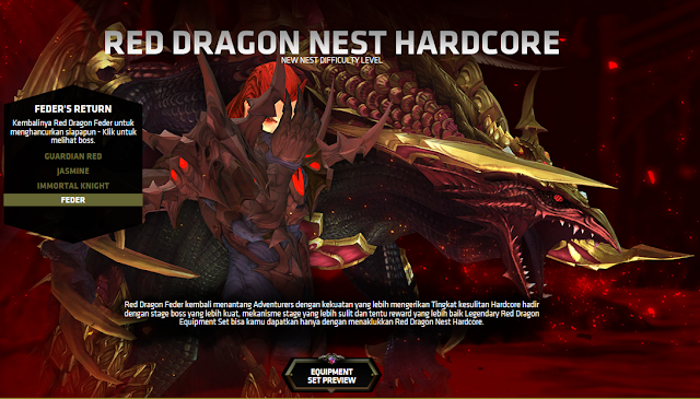 Dragon Nest Ina Update Red Dragon Nest Hardcore