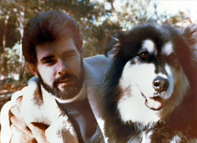 george lucas with indiana dog