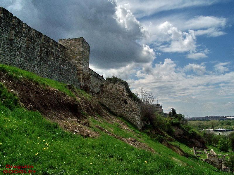 Spoljni zidovi Kalemegdana