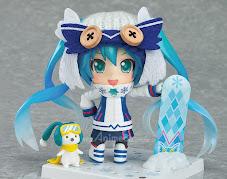 Figura Snow Miku Snow Owl Ver. Nendoroid Edición Limitada Hatsune Miku Vocaloid