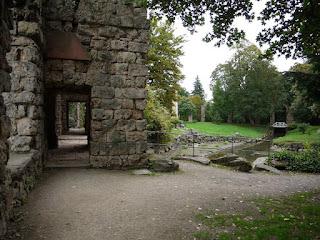 Römische Ruine im Schwetzinger Schlossgarten