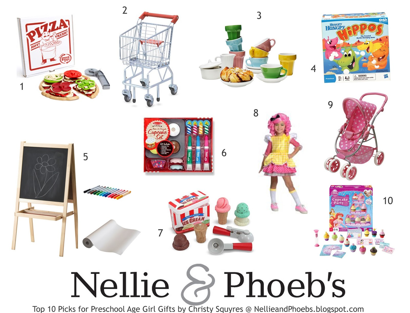 Nellie & Phoeb\'s: Gift It: My Top 10 Preschool Girl Gifts