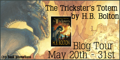 The Tricksters Totem by HB Bolton Book Tour & Excerpt