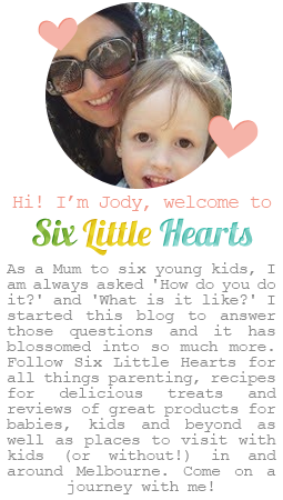 About Jody Six Little Hearts