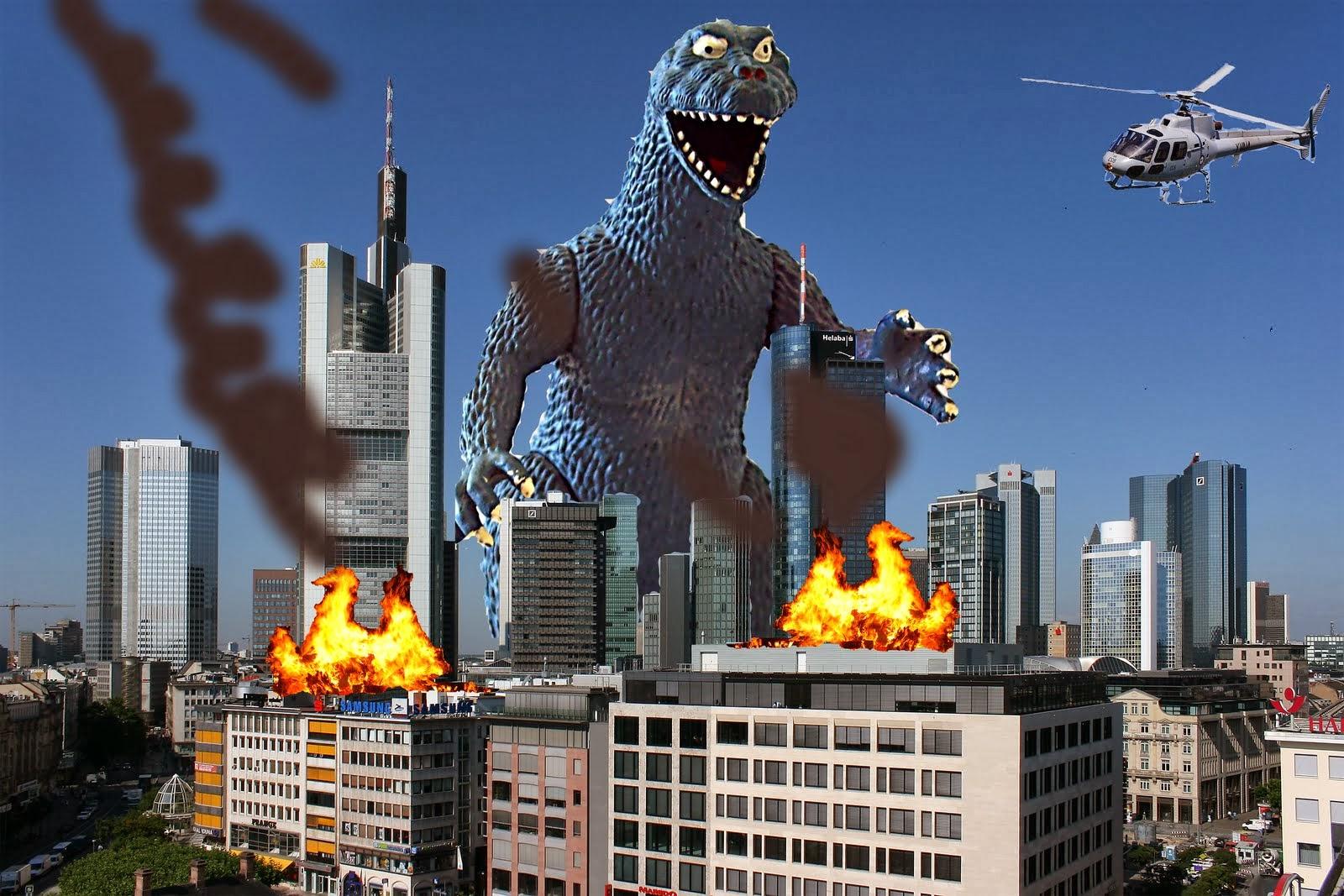 Majority would prefer devastating attack Godzilla boring Euro crisis: survey
