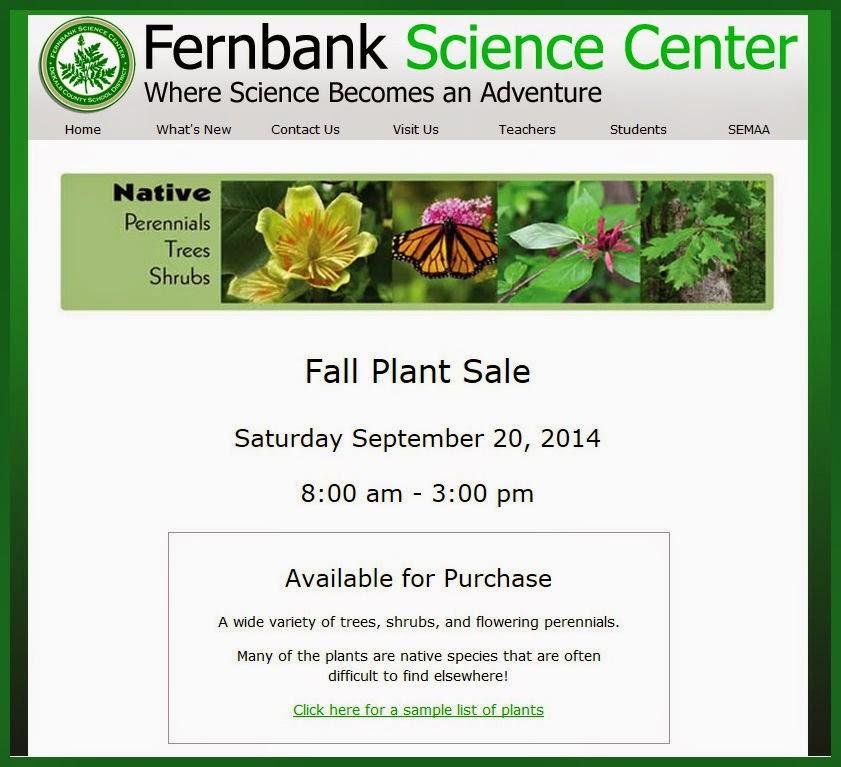 http://www.fernbank.edu/PDF/FallPlantList.pdf