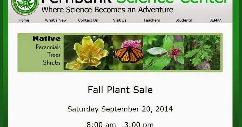 NEXT STOP DECATUR Fernbank Fall Plant Sale Sept 20