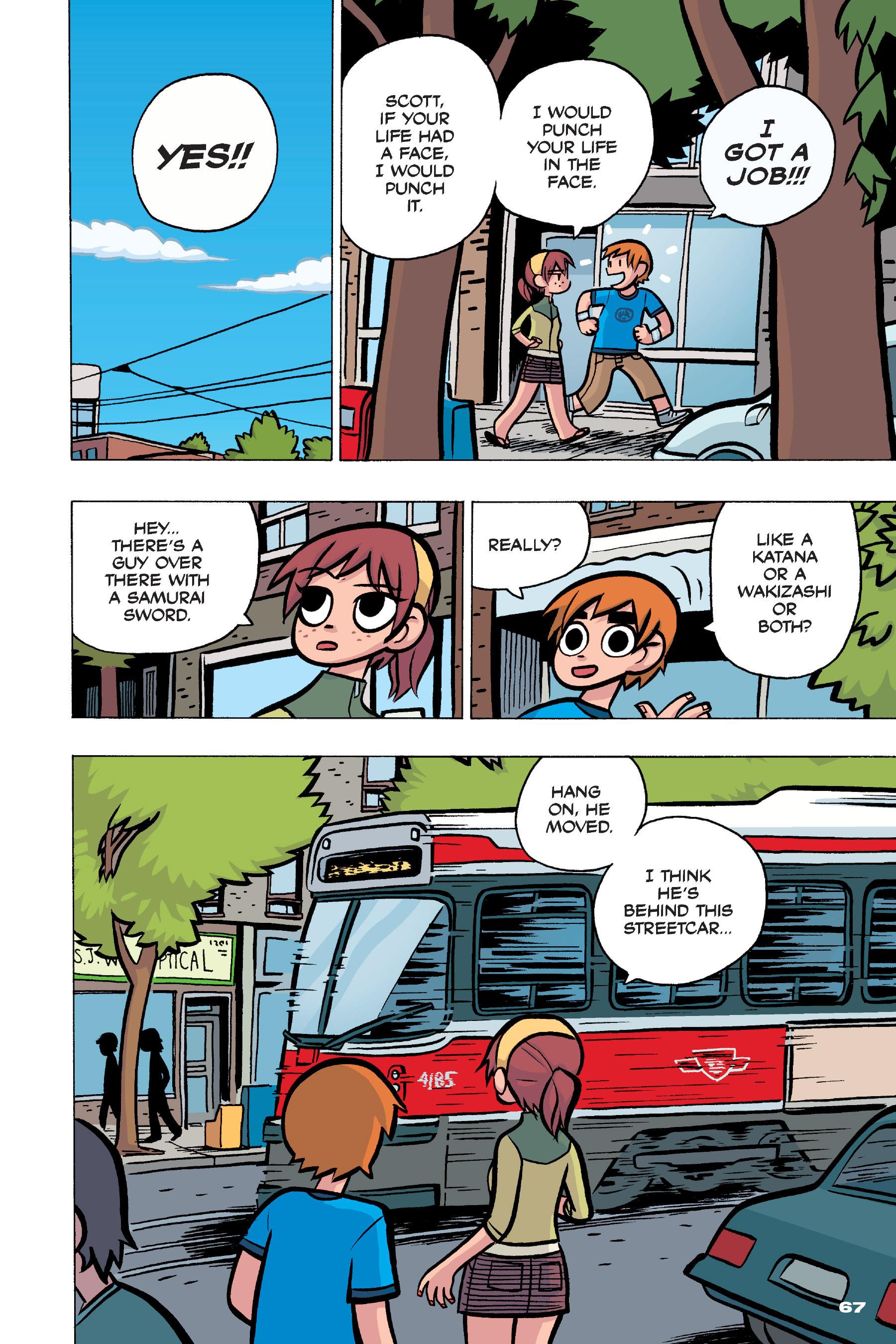 Read online Scott Pilgrim comic -  Issue #4 - 66