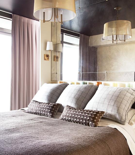 Bedroom Ceiling Mirror: The Pink Zipper: Designer Spotlight