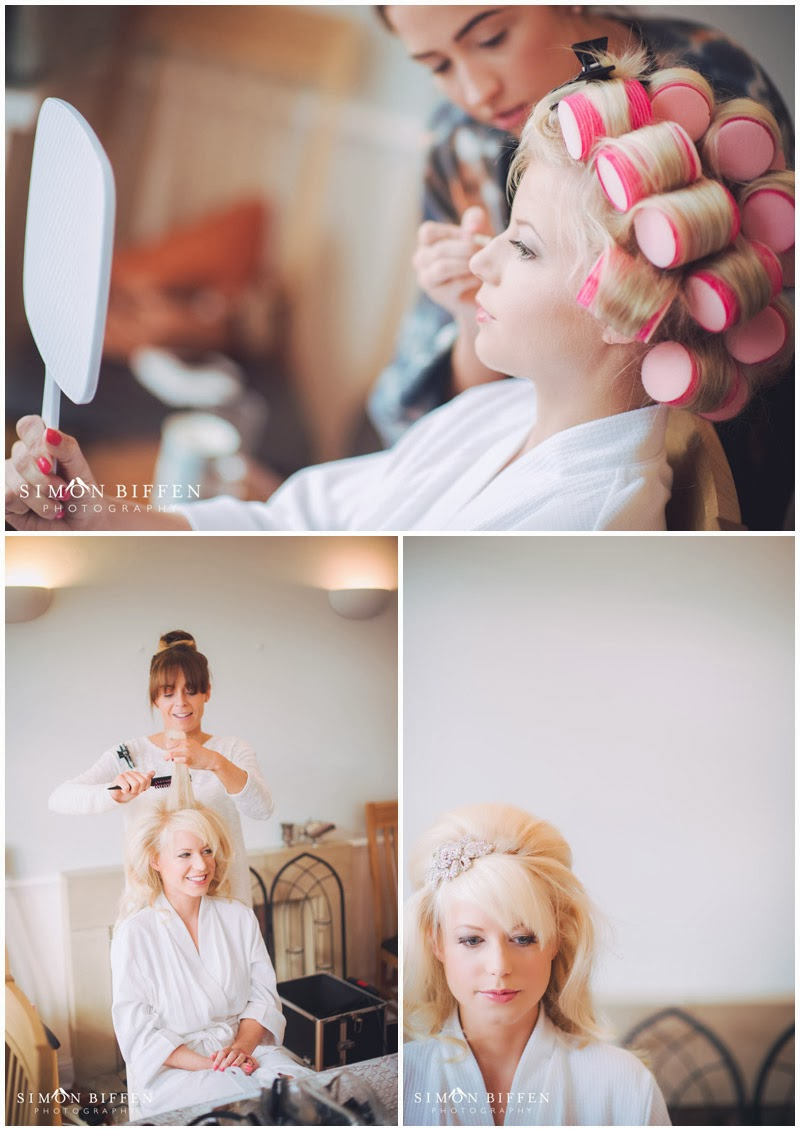 Brides preparations