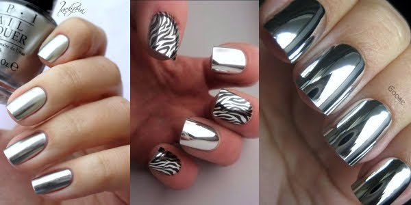 Awesome Silver Metallic Nail Art Ideas Omg Love Beauty