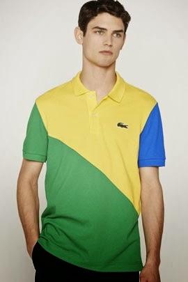 Lacoste Rio coleção para a Copa do Mundo 2014