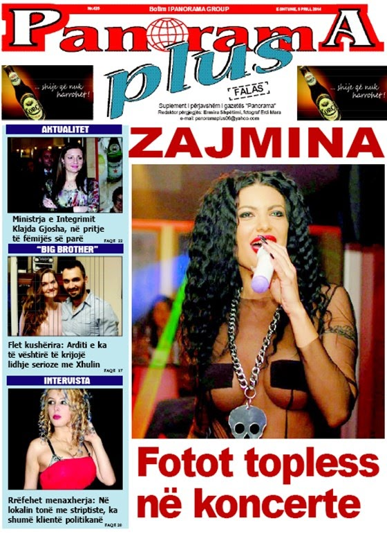 Revista PANORAMA PLUS - 5 Prill 2014