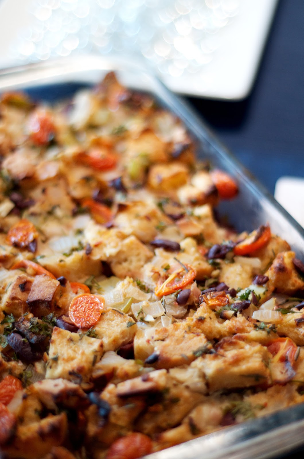The Ginger Cook: Tomato-Olive Stuffing